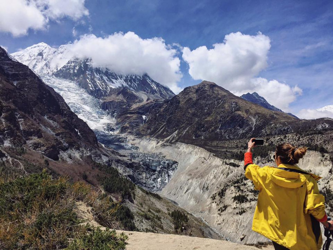 Annapurna circuit and upper Mustang trekking