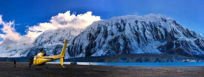 10 days Everest trek with helicopter support