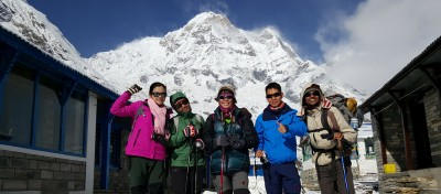 Annapurna Base Camp trek 07 days