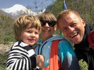 Annapurna family trek with kids