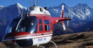 Nepal Helicopter tour -Short time ?no Problem