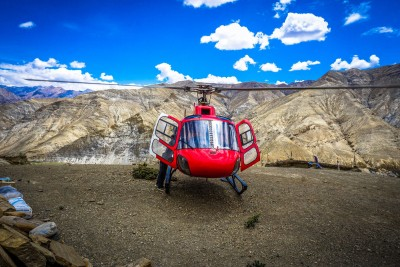 muktinath mustang helicopter tour