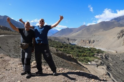 Jeep and walking combine tour in Jomsom to Upper Mustang