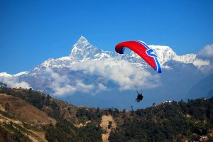Paragliding in Nepal-fly for Fun