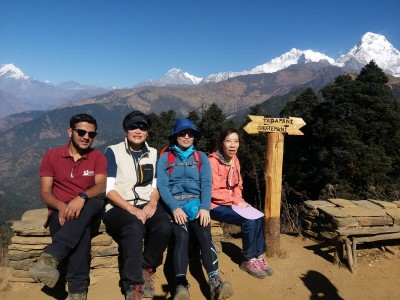 short pokhara to ghorapani poon hill trek