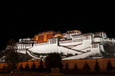 Potala palace   in Lhasa