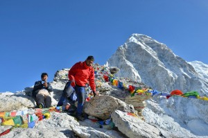 Everest high pass, a view after Chola pass