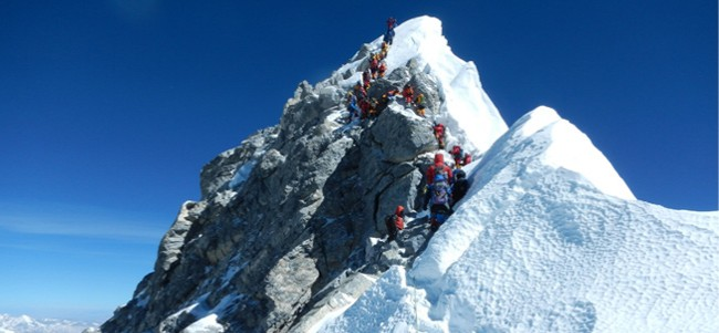 Mountaineering in the Himalayas