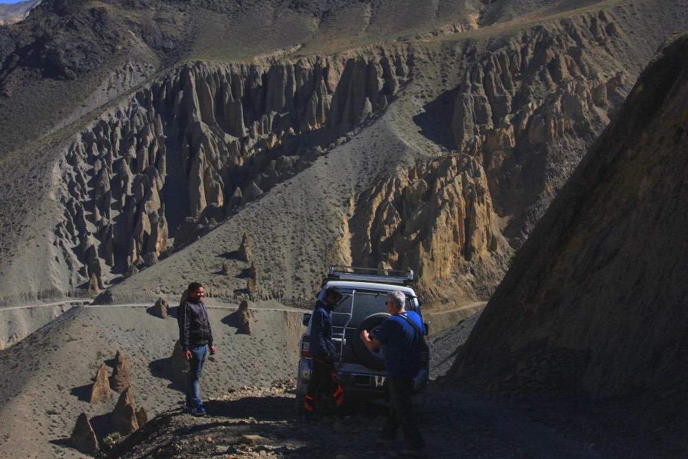 Adventure Jeep tour in Nepal