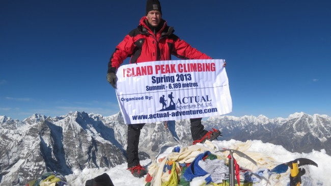 Successful Peak climbing in Nepal