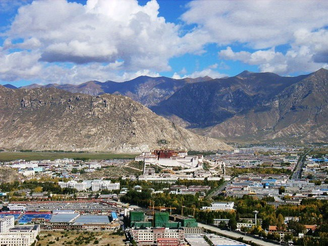 Lhasa City-Roof of the World.